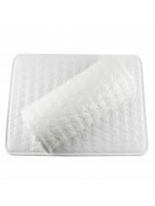 Подлокотник+коврик для маникюра белый