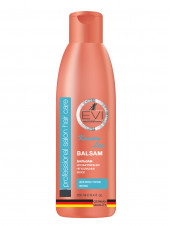 «EVI» Professional  Бальзам - ополаскиватель «Кератиновое выпрямление» для непослушных волос. 250мл