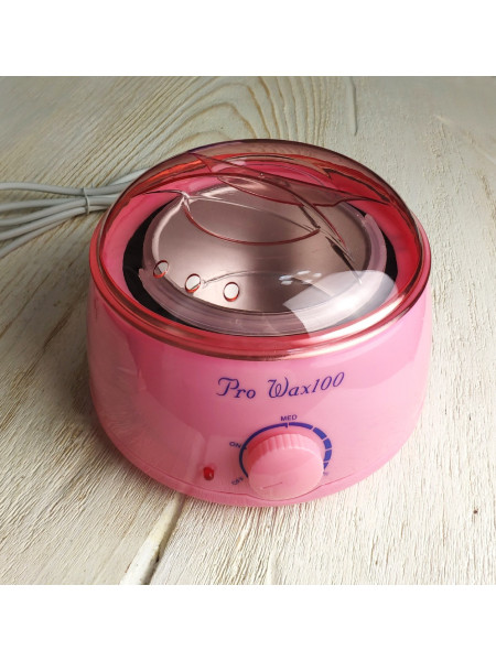 Воскоплав для горячего воска Pro-Wax 100 (розовый)