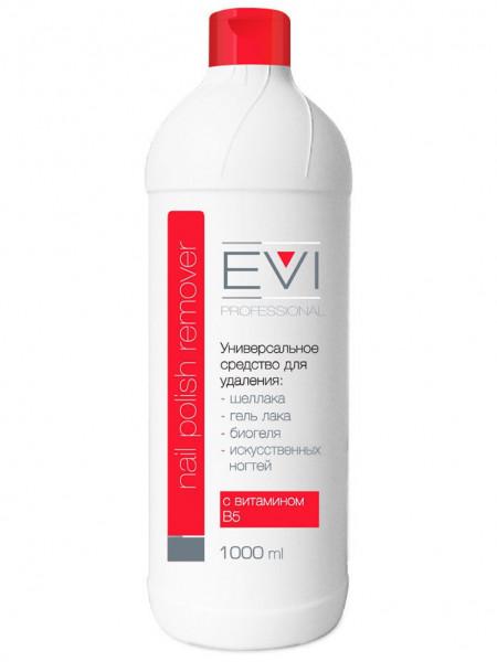 EVI Professional Универсальное средство для снятия всех видов гель-лака, биогеля, иск ногтей 1000 мл
