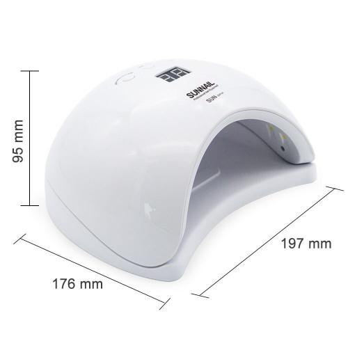 Лампа для сушки гель лака SunX1 Plus LED 48W (белая) в Астрахани