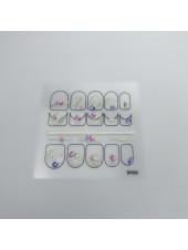 3D наклейки для дизайна ногтей №50