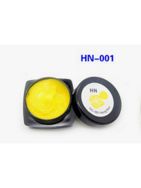 Гель-пластилин для дизайна ногтей (Желтый) HN-1