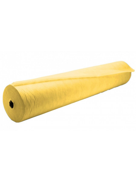 Простыня одноразовая White line 70*200 SS 17 жёлтый 100шт. рол