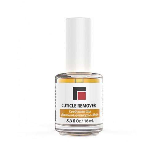 Средство для удаления ороговевшей кожи «Сuticle remover «Мёд» 16 мл. MILV